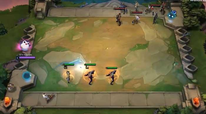 Hình 9.1: 2 người chơi sẽ tấn công nhau.