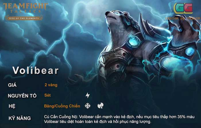 Volibear cuồng chiến DTCL