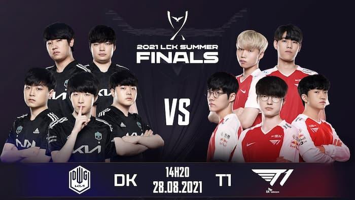 Highlight T1 vs DK 22/08